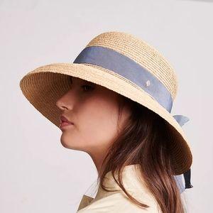 Used Kaminski Newport Raffia Sun Hat